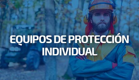 Hombre con ropa de protección individual